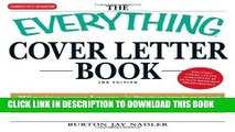 [New] Everything Cover Letter Book: Winning Cover Letters For Everybody From Student To Executive