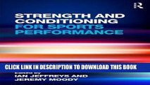 PDF] Strength and Conditioning for Sports Performance Read