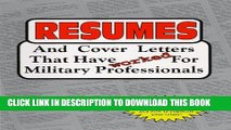 [PDF] Resumes and Cover Letters That Have Worked for Military Professionals (Anne McKinney Career)