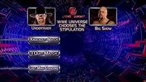 Shelton Benjamin vs. Chris Jericho (2004)  Ric Flair vs. Randy Orton (2004)  Ric Flair vs. Triple H (2005)  John Cena vs. Kurt Angle vs. Shawn Michaels (2005)  Finlay vs. Rey Mysterio (2007)  Triple H vs. Umaga (2007)  Batista vs. The Undertaker (2007)  T