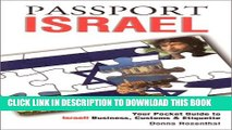 Collection Book Passport Israel: Your Pocket Guide to Israeli Business, Customs   Etiquette