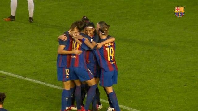 Brasileira marca e garante vitória do Barça na Champions League feminina