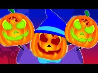 Jack O lantern | halloween song | scary rhymes | nursery rhymes | kids songs