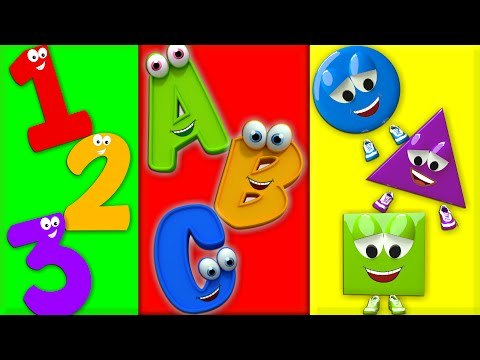 ABC Song for Kids | English Songs Video For Kids | ABCD Shapes Song | Alphabet Learning For Kids