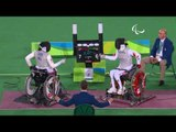Wheelchair Fencing | YAO v CHAN | Women's Individual Foil Cat B Bronze | Rio 2016 Paralympic Games