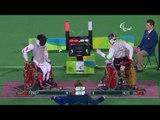 Wheelchair Fencing   HU v FENG   Men's Individual Foil Cat B Final   Rio 2016 Paralympic Games