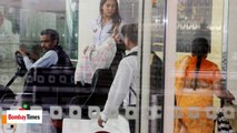 SPOTTED ! Shahid Kapoor Snapped With Baby Misha & Wife Mira Rajput At The Airport