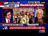 Om Puri Badly Bashing And Insulting Arnab Goswami In Indian Live Show