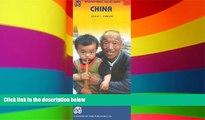 Big Deals  International Travel Maps China, Scale 1:3,800,000: Changchun, Beijing, Xian, Wuhan,