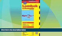 Big Deals  Lombok   Komodo Travel Map Fifth Edition (Periplus Travel Maps)  Best Seller Books Most
