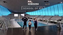 Samsung School of Rio Swimming with Ellie Simmonds and Susie Rodgers