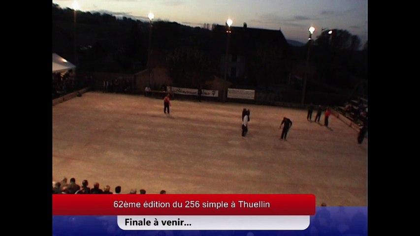 Finale Sébastien Mourgues contre Jean-Michel Pourroy, Sport Boules, Thuellin 2012