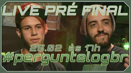 LIVE PRÉ FINAL (PATIFE E VILHENA RESPONDEM): LogBR - Legends of Gaming Brasil #perguntelogbr