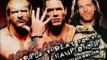 WWE Backlash 2006 - John Cena vs Triple H vs Edge