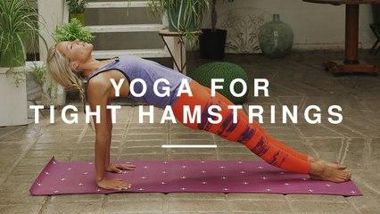 Yoga for Tight Hamstrings | Lindsay Jay | Wild Dish