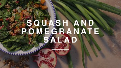 Roasted Squash and Pomegranate Salad | Anne-Marie | Wild Dish