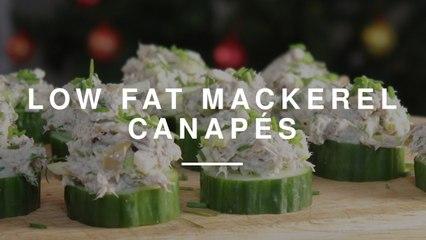 Low Fat Smoked Mackerel Canapés | Madeleine Shaw | Wild Dish