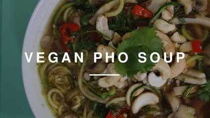 Vegan Vietnamese Pho Soup | Madeleine Shaw | Wild Dish