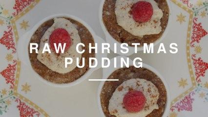 Gluten Free Raw Christmas Pudding | Madeleine Shaw | Wild Dish