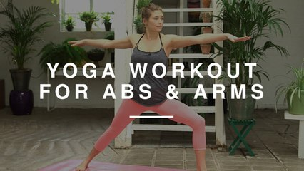 Yoga Workout for Arms & Abs | Annie Clarke | Wild Dish