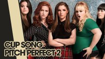 """CUPS - CUP SONG COVER - PITCH PERFECT 2 ORIGINAL """"4 GIRLS 1 CUP"""" - SPOOF REAL LIFE ACAPELLA"""
