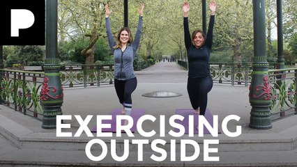 Madeleine Shaw & Miquita Oliver – Tips for Exercising Outside