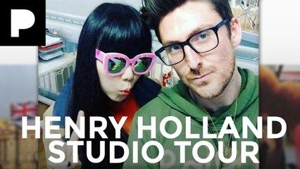 Henry Holland Studio Tour w/ Susie Bubble