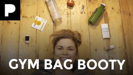 Madeleine Shaw's Gym Bag Booty