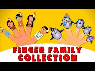 Finger Family Collection   Top 20 Finger Family Nursery Rhymes