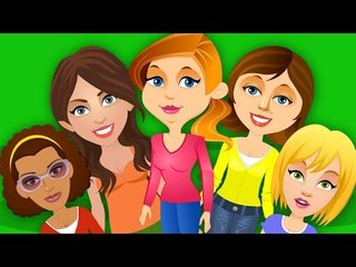 Five Strict Moms | Kids Tv Nursery Rhymes And Childrens Song For Kids