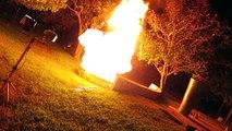Expérience : 1000 briquets dans le feu