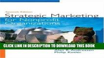 [PDF] Strategic Marketing for Non-Profit Organizations (7th Edition) Popular Collection