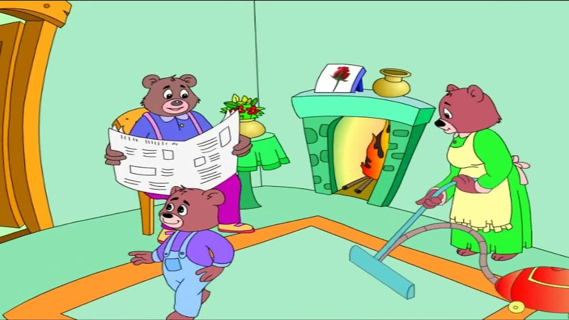 GoldilocksAnd The Three Bears ## Short Animated Story In english - Kids Education