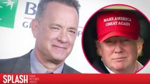 Tom Hanks is 'Offended as a Man' by Donald Trump's Graphic Sound Byte