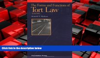 Free [PDF] Downlaod  Abraham s the Forms and Functions of Tort Law: An Analytical Primer on Cases