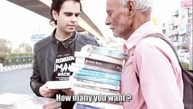 A 68-year-old man was selling books and then watch what happened - Humanity - Varun Pruthi videos