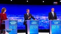 Débat des primaires - Sarkozy : « Je ne serai pas la Martine Aubry de droite »