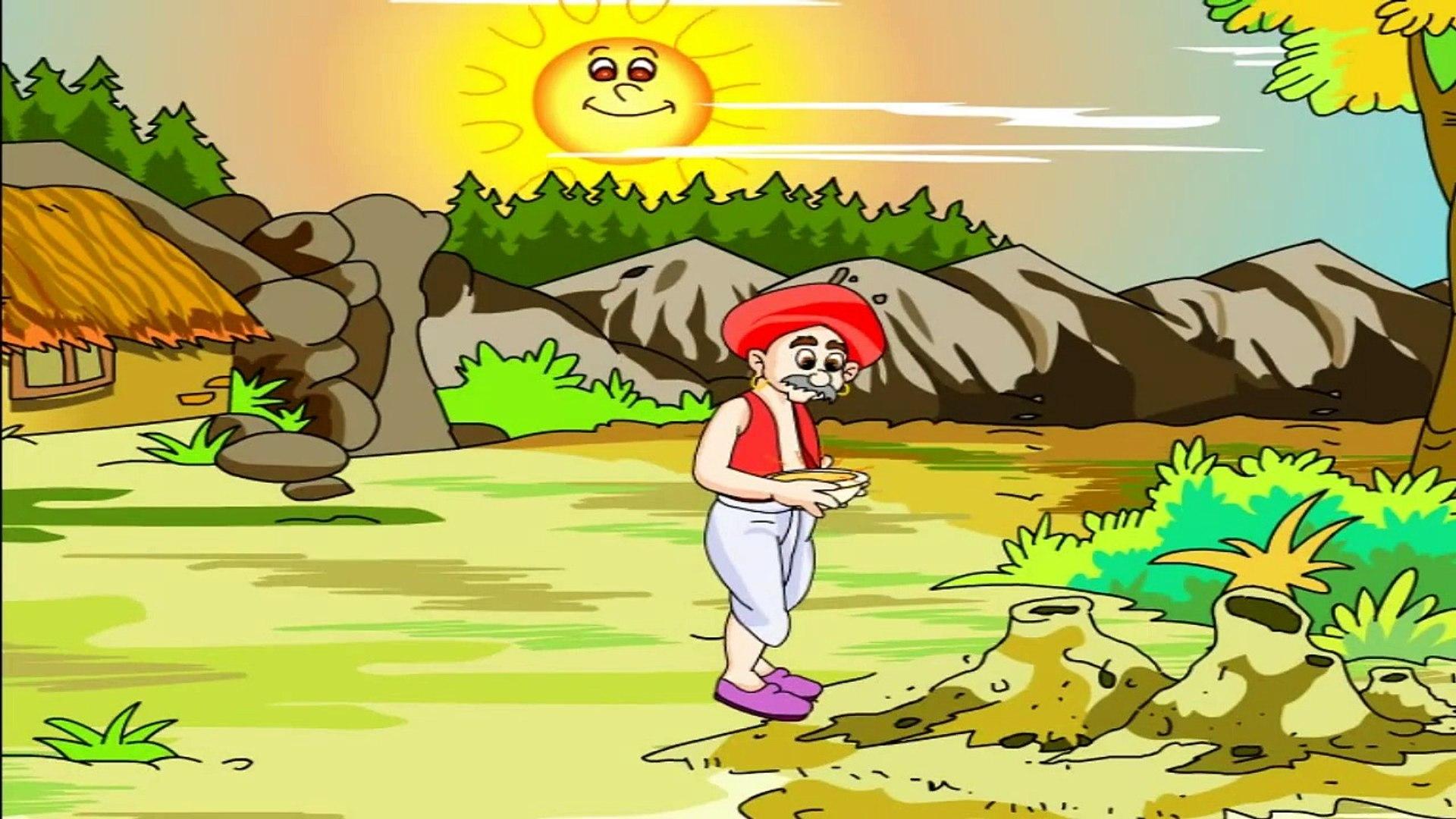 किसान और साँप ## Famous Moral Story - Hindi Videos For Kids Education