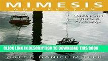 [PDF] Mimesis and Reason: Habermas s Political Philosophy Full Online