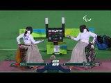 Wheelchair Fencing JANA v ZHOU  Women's Individual Épée -B Gold  Rio 2016 Paralympic Games