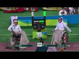 Wheelchair Fencing| HALKINA v COLLIS| Women's Individual Epee A | Rio 2016 Paralympic Games
