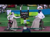 Wheelchair Fencing| DELUCA v KRAJNYAK | Women's Individual Epee A | Rio 2016 Paralympic Games