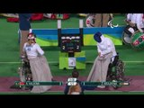 Wheelchair Fencing| HALKINA v KRAJNYAK | Women's Individual Epee A | Rio 2016 Paralympic Games