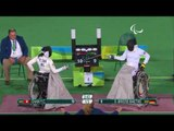 Wheelchair Fencing| S.BRIESE v CHAN| Women's Individual Épée - B Bronze |Rio 2016 Paralympic Games