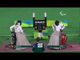 Wheelchair Fencing |ZHOU v CHAN|Women's Individual Épée - B| Rio 2016 Paralympic Games
