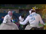 Wheelchair Fencing | GILLIVER v BETTI | Men's Individual Epee A | Rio 2016 Paralympic Games
