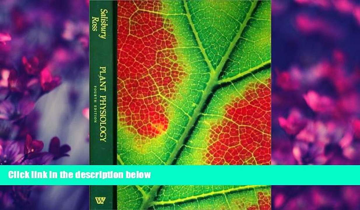 Choose Book Plant Physiology