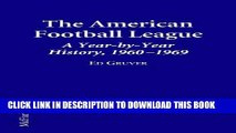 [PDF] The American Football League a Year-By-Year History, 1960-1969 Popular Online