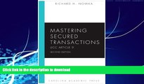READ  Mastering Secured Transactions (UCC Article 9), Second Edition (Carolina Aademic Press