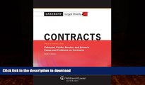 EBOOK ONLINE  Casenotes Legal Briefs: Contracts Keyed to Calamari, Perillo, Bender   Brown, 6th